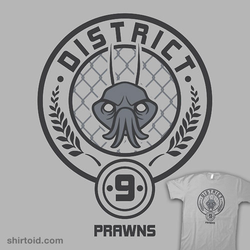 shirtoid:  Prawn District available at RedBubble