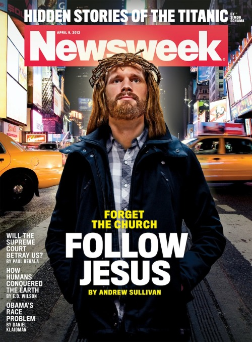 "This week's cover features a very average-looking Jesus Christ, whose cover line urges we follow him—and ditch the church. The cover story is written by Andrew Sullivan, who who argues that Christianity in America is ""in crisis,"" as political issues like contraception, health care, and abortion have been usurped by religious thinking, and the kind of Christianity that is most essential and pure has been lost.  Here's an excerpt (full story online and on newsstands tomorrow AM):   It seems no accident to me that so many Christians now embrace materialist self-help rather than ascetic self-denial—or that most Catholics, even regular churchgoers, have tuned out the hierarchy in embarrassment or disgust. Given this crisis, it is no surprise that the fastest-growing segment of belief among the young is atheism, which has leapt in popularity in the new millennium. Nor is it a shock that so many have turned away from organized Christianity and toward ""spirituality,"" co-opting or adapting the practices of meditation or yoga, or wandering as lapsed Catholics in an inquisitive spiritual desert. The thirst for God is still there. How could it not be, when the profoundest human questions—Why does the universe exist rather than nothing? How did humanity come to be on this remote blue speck of a planet? What happens to us after death?—remain as pressing and mysterious as they've always been?  That's why polls show a huge majority of Americans still believing in a Higher Power. But the need for new questioning—of Christian institutions as well as ideas and priorities—is as real as the crisis is deep.  Update: Cover story writer Andrew Sullivan will host a live Q&A Tuesday at 2pm ET if you'd like to join and discuss the piece."