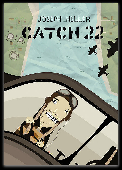 """There was only one catch and that was Catch-22, which specified that a concern for one's own safety in the face of dangers that were real and immediate was the process of a rational mind.""  Read of the Day: Catch-22 by Joseph Heller  Click the photo for a pdf version of the novel."