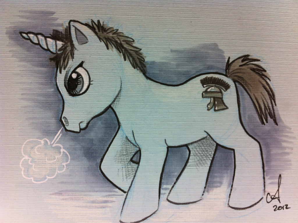 hisnamewasbeanni:  amymebberson:  Rory Pony  Gah!  I don't understand why he's a Rorycorn, but this is the first pony-zation that I've seen that I can get behind 100%.