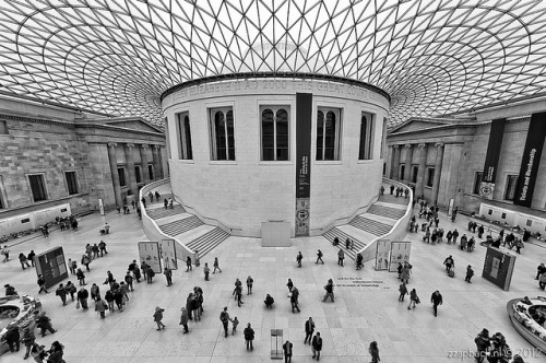 Set in midst of knowledge / British Museum / London by zzapback on Flickr.