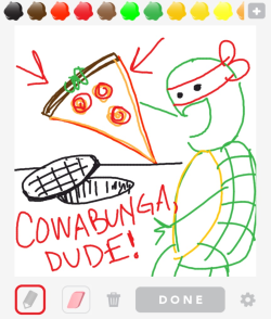 and this, my friends, is why we should ALL play Draw Something reblogged from nmems