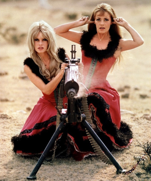 Viva Maria! is a 1965 comedy-adventure film starring Brigitte Bardot and Jeanne Moreau as two women named Maria who meet and become revolutionaries in the early 20th century. It also starred George Hamilton as Florès, a revolutionary leader. It was co-written and directed by Louis Malle, and filmed in Eastman Color. 16 weeks of principal photography in Mexico, including Texcoco.Texcoco is a city and municipality located in the northeast portion of State of Mexico, 25 km northeast of Mexico City.