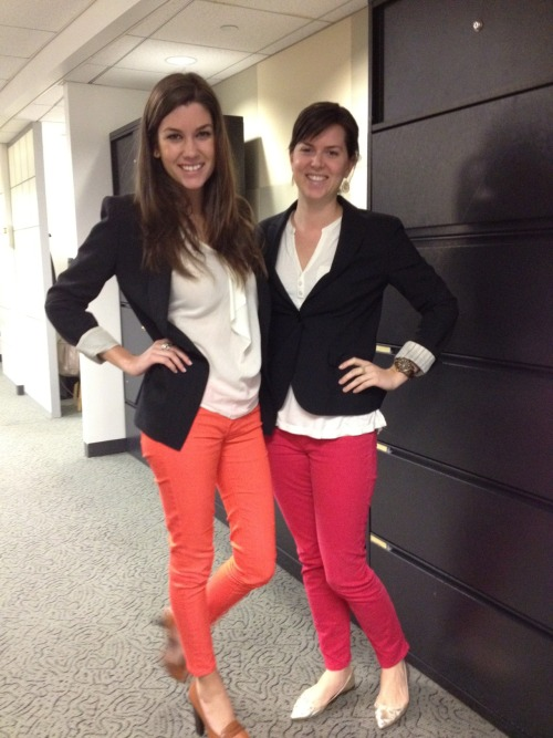 Who wore it redder?  -Weber Shandwick, NYC
