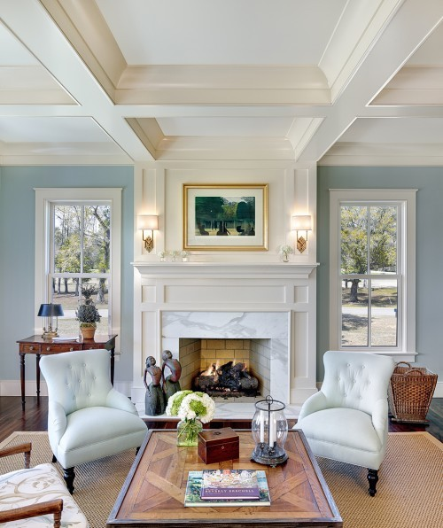 georgianadesign:  Charleston living room by Structures Building Company.