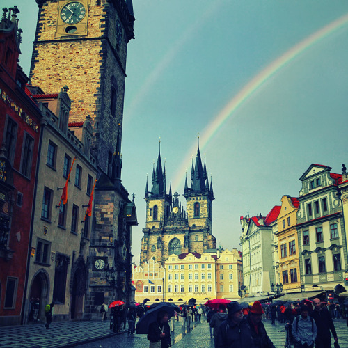 Rainbow in Prague II by `isacg