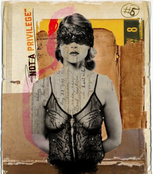 Franz Falckenhaus media collages (via trendland)