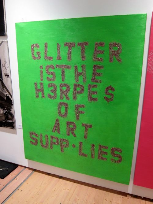 laughingsquid:  Glitter is the Herpes of Art Supplies  ^_____^ hahaha