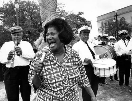 Mahalia Jackson and the Eureka Brass Band, Jazzfest 1970.