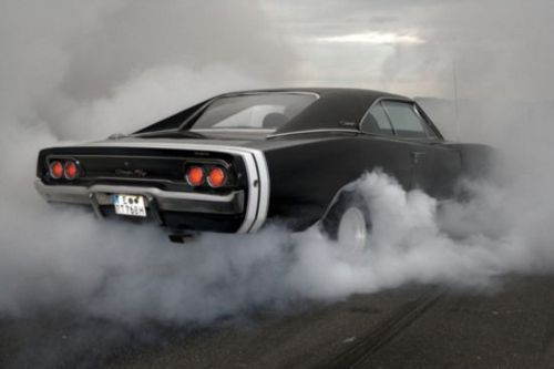 1970 Dodge Charger or the car from fast and the furious. what a monster