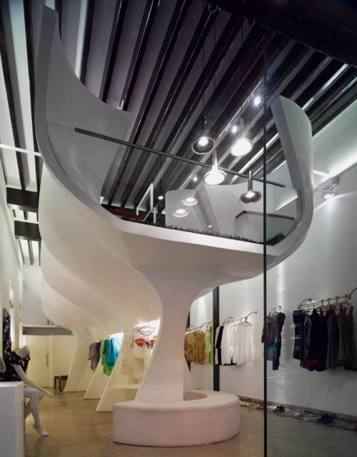 This is a store interior design by Sameep Padora and Associates, located in Mumbai, India.