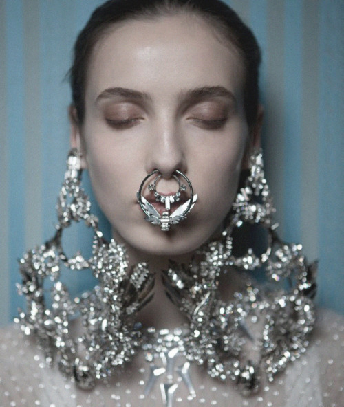 solestruckshoes:  Posting everything with the Givenchy septum ring until Oct. 15th and I can finally have mine.