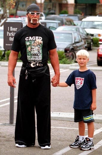 An Urbane favorite: Hulk Hogan in JNCOs