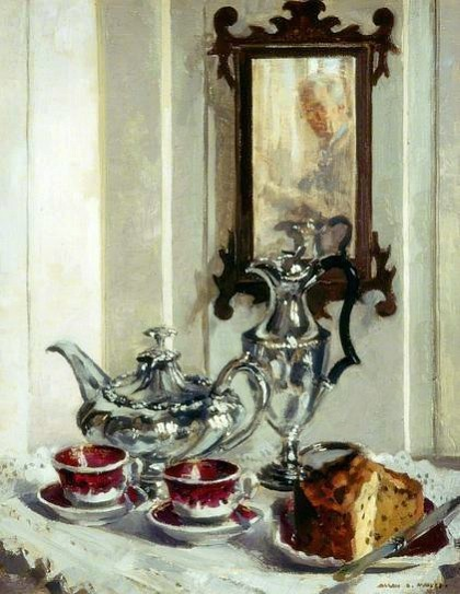 Allan Douglass Mainds Silver and Spode 1942