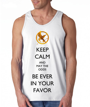 Calling all Hunger Games fans!— We are now selling pre-ordered tanks! Please allow a couple weeks for it to be shipped. This is a limited edition item so get it while it's here! Also, this is a mockup design so the real design may look slightly different than pictured.  Click here to order yours today! Who's buying one?!?