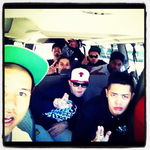 #MdubGang Train! Who wants a ride to #ABDC #moswantedcrew (Taken with instagram)