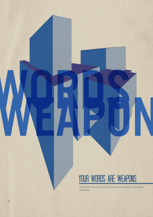 Your Words are Weapons