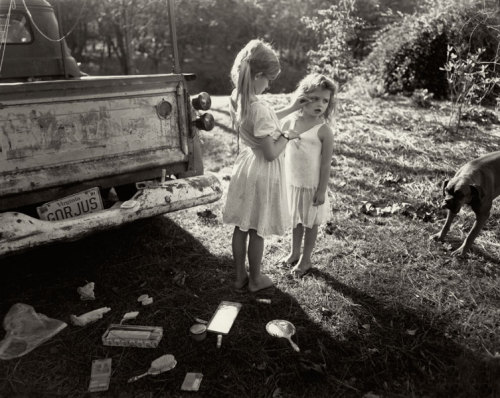 Just bought a book of Sally Mann prints :D cause her work is super creepy & ethereal & raw and makes you think WTF? all at once and that's what makes it so glorious.