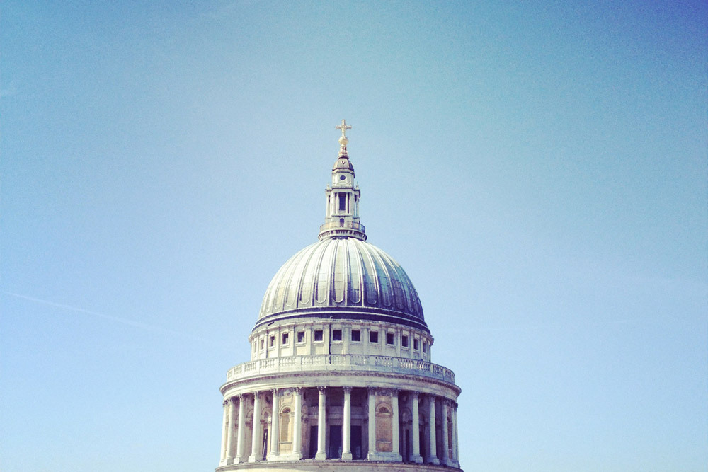 Instagram from a visit to St Pauls.