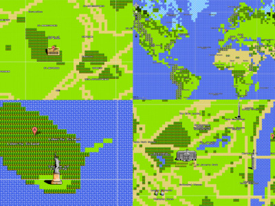 April's Fool Day 8-bit Google Maps, wish there was an 8-bit mode for all the web :)