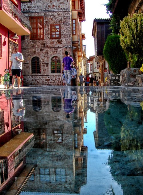 "ytraveler:  ""Stone Mirror"" in Antalya, Turkiye Source: Click Here"