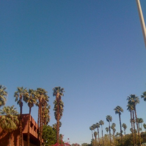 #clear #sky #desert #love (Taken with instagram)