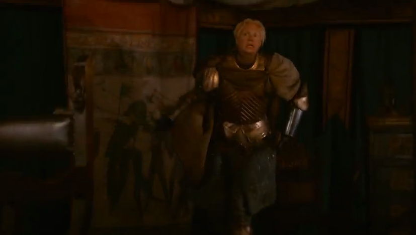 Game of Thrones season 2 preview: Renly Baratheon's bodyguard has a lot of Swinton swag.