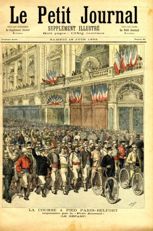 Le Petit Journal @credits  Le Petit Journal was a daily Parisian newspaper published from 1863 to 1944. It was founded by Moïse Polydore Millaud. In the 1890s, at the height of its popularity, the newspaper had a circulation of a million copies, and by 1884 it also included a weekly illustrated supplement.