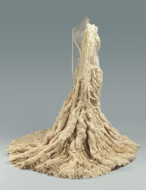 Oyster Dress by Alexander McQueen, Spring/Summer 2003