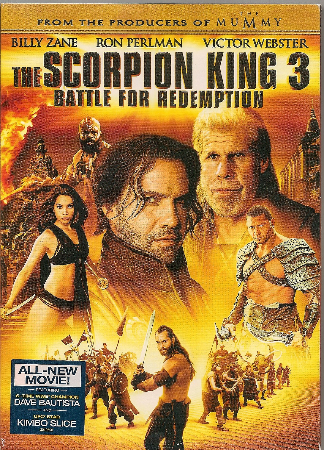 badmovieihave:  Bad movie I have. The Scorpion King 3 Battle for Redemption 2012