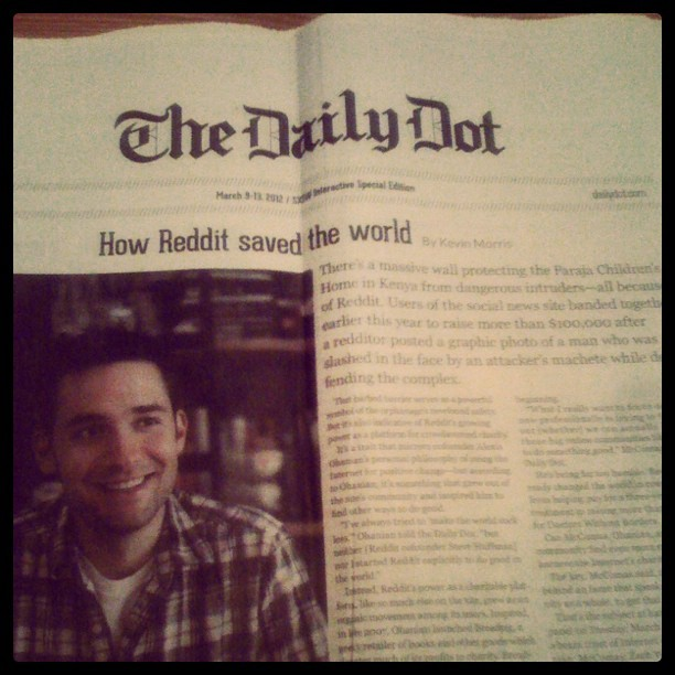 It's time. #dailydot (Taken with instagram)