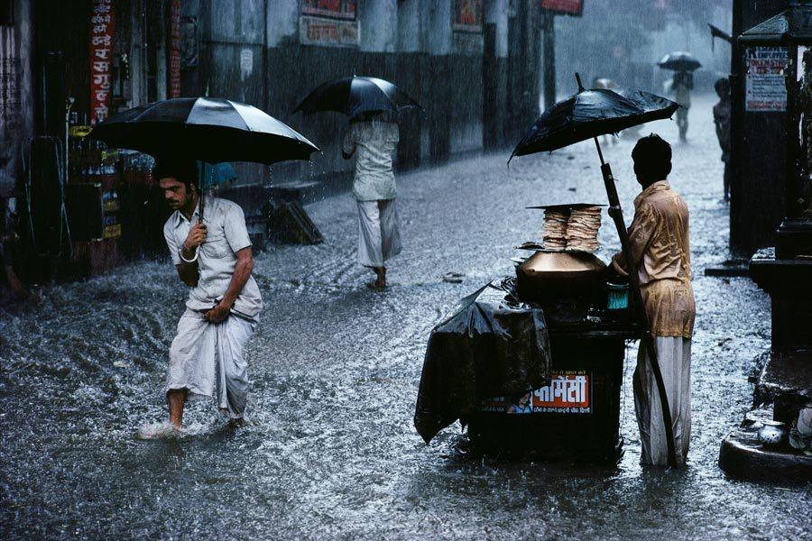 Steve McCurry, Chandni Chowk, Old Delhi, India