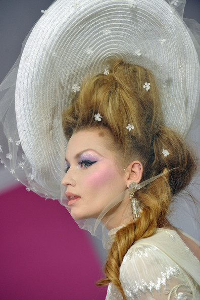 Laura Blokhina Paris Fashion Week Haute Couture S/S 2010 - Christian Dior