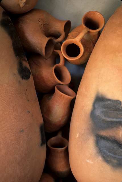 Mixe Pottery Oaxaca by Ilhuicamina on Flickr.