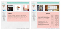 adobe illustrator and indesign. // coco cone brand identity, web design, packaging.