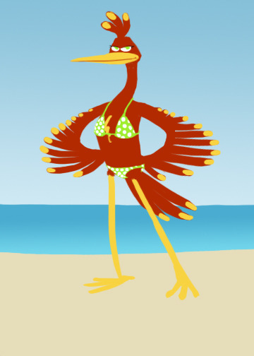 why Kazooie shouldn't wear a bikini