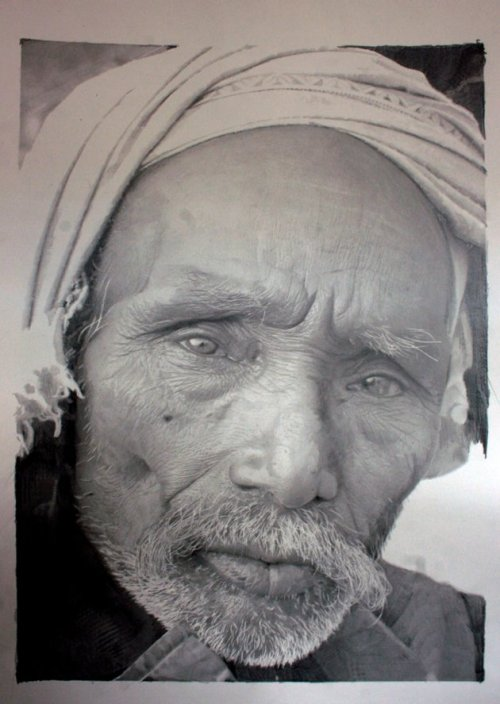 This is a drawing by Paul Cadden