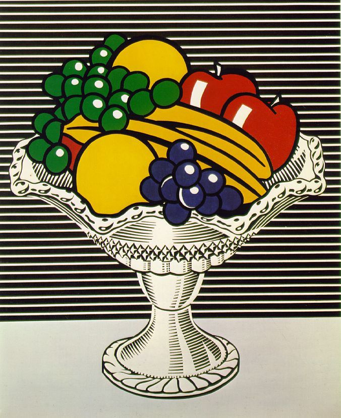 Still Life with Crystal Bowl, Roy Lichtenstein 1973