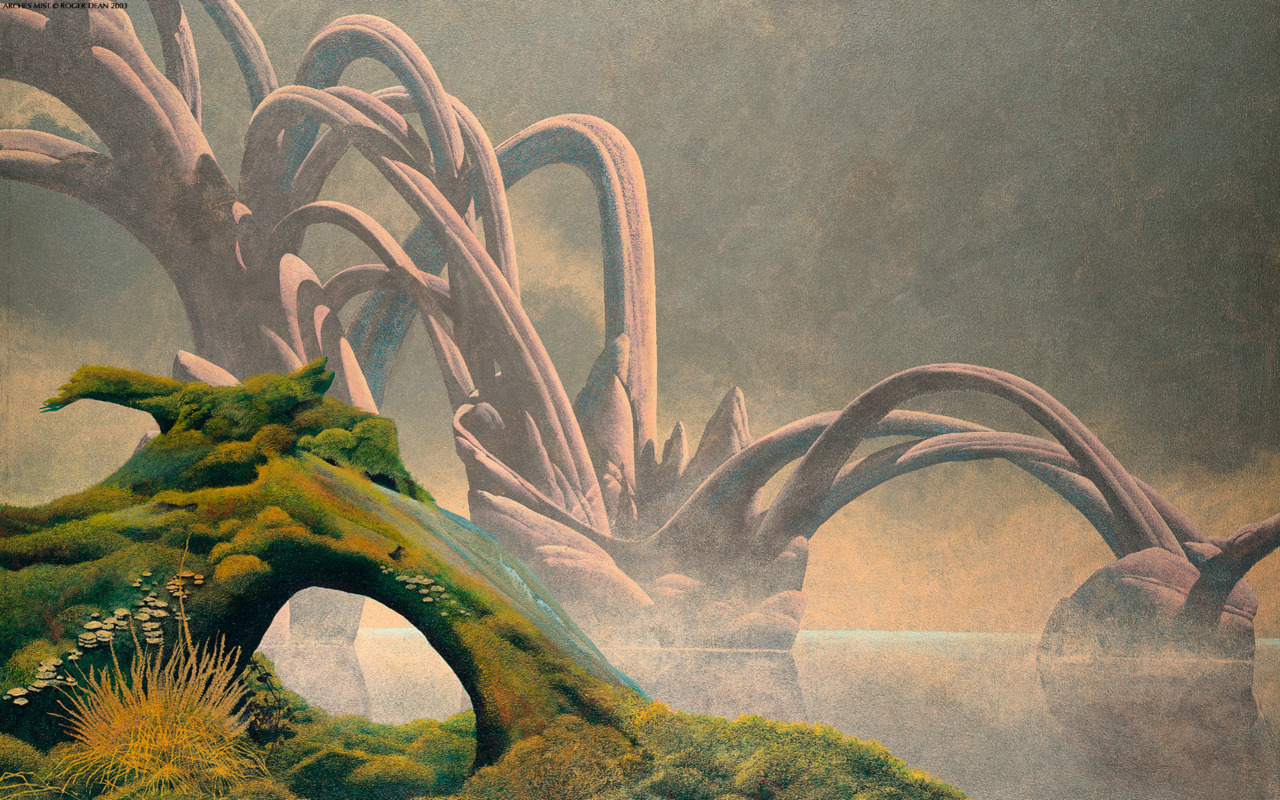 Roger Dean: Arches Mist (Keys to Ascention)