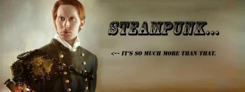 "What is Steampunk? It's come to my attention lately that many people still don't seem to really have any idea what exactly Steampunk is. I mean, it's pretty obvious that it involves gears and leather and stuff, but what is and isn't Steampunk? Where did it come from, and what does it mean? I'll do my best to answer all of those questions for you. As someone who's studied Steampunk extensively and has been a part of the movement for many years, I feel that I have a unique perspective on all of these things. I know that I'm not the Only Steampunk Authority In The World, but bear with me and maybe we'll come to some understandings about Steampunk. So, what is Steampunk? That's a hard question to answer, which is why so many people still struggle with it. Part of the problem is that Steampunk means different things to different people, so it naturally defies easy defining or explaining. However, that doesn't mean that we can't do it! The term ""Steampunk"" really applies to a wide variety of people who use the aesthetics or affectations of the past in their costuming and/or daily life. Steampunks are specifically concerned with the aesthetics and affectations of the Victorian era (approximately 1837-1901), but some people expand it earlier or later. Seems straightforward, right? Well, the problems begin to arise when you start to realize that Steampunk isn't really about the past at all. Why isn't Steampunk about the past? Lots of reasons! First of all, let's lay to rest the idea that Steampunk is about the Victorian era. Yes, it *sort of* draws on Victorian aesthetics, ideas, and culture, but there are enough differences that a real Victorian would be embarrassed. The fact of the matter is that we, today, have no real conception of what life was like at that time, and no amount of historical films or history books will really give us an understanding of that. Instead, Steampunk draws on what we THINK the Victorian era was like, which is far more of a reflection on how contemporary society has treated history than it is of the actual historical period itself. The fact is that we just don't think about the world in the same way as they used to. My favorite example is how we think of H.G. Wells's time machine as looking vaguely like an airboat, with the big dish in the back and a seat with some levers in front of it. Well, that conception of the time machine is from the 1960's, after the car became prevalent in society. When Wells designed the time machine, he thought of it not even as a bicycle, but as a tricycle, because that's what he was riding at the time. He didn't learn how to ride a bicycle until after the time machine was published. There are a million other little examples of how the things they thought of would just never occur to us today, thus separating Steampunk from the fiction written during the Victorian era. Instead, most of what Steampunk is REALLY based on are the films created in the 50's and 60's that were, in turn, based on those Victorian works. As another example, how many science fiction drawings have you seen from the Victorian era that really showcase how people of the time were envisioning the future? Probably few to none, and those that do exist don't even always line up with what we think they should look like. Second, need I bring up the harsh realities of the Victorian era? It was dirty and full of disease, oppression, and outright slavery. Those aspects frequently get swept under the metaphorical rug, even further distancing Steampunk from the real Victorian era. If Steampunk isn't about the past, what IS it about? Well, it's about the present. Steampunk has experienced such a meteoric rise in popularity due to the fact that it resonates with lots of people, and that's because it's sufficiently broad as to allow people to come for lots of different reasons. Let me highlight some of those reasons for you: 1. People are tired of the sleek, minimalist aesthetics that are currently popular, and want things that are intricate and interesting. 2. People dislike the trend of casualness in all aspects of modern culture, and want more formal and rigid rules that dictate social interaction. 3. It's sad to see people walking around at the mall wearing practically their pajamas and looking like they just rolled out of bed, and people want other people to at least try to look nice. 4. Some people think it's inappropriate to wear so few clothes out in public, and think that people should wear more modest styles. 5. For the first time in human history, there is no longer a frontier to expand to, and so people find themselves feeling 'trapped' by how small the world is and long for a time when the world was bigger. 6. The workings of modern technology are literally incomprehensible to the average person, and the lack of control that it creates makes people want easily-understood machines. 7. Most people no longer make things with their hands, and find that they crave the ability to just make something, and Steampunk gives them that opportunity. 8. Modern clothes are simple and boring, and so people crave more interesting, ornate, complicated clothing. These are just a few examples of a list that undoubtedly goes on for quite a long time. While all of those examples don't apply to everyone, at least one of them applies to everyone in Steampunk, if not more than one. Though again, this is just a small sampling of a full list, which I can't fully anticipate. I do not, after all, speak for all Steampunks. However, all of the items on the list have the same thing in common: they're all reactions to something going on in modern society or culture. In that way, you can consider Steampunk a counterculture. People are drawn to Steampunk because it supplies them with something that would otherwise be missing from their lives. If Steampunk is about the present, then why does it look Victorian? Here's the first point of this article where we enter the realm of speculation. Bearing in mind for a minute that it DOESN'T really look Victorian, I think that the popularity of Steampunk isn't actually intrinsically related to the Victorian era at all, but instead is drawn to that time because of a confluence of traits. Remember that all of the examples listed above for why people become involved in Steampunk would all still exist even if Steampunk didn't. So what this says to me is that the Steampunk movement arose because it was time for it to do so. Remember also that Steampunk has existed for a very, very long time, during which it languished in obscurity until around 2005.  I think the reason why Steampunk is so popular right now is because it's a so-called 'perfect storm'. That is, it meets all of the criteria listed above, as well as a few not listed. For example, the Victorian era is long enough ago so as to no longer be problematic for most people, but long enough ago as to be exotic. But none of those are inherently Victorian, it's just that the Victorian era hits all of those points. Where did Steampunk come from? Steampunk, as I said, is based on the Victorian era in the same way that Hollywood movies can be based on a true story. That is, hardly at all. So since there's such a big difference between Victorian Science Fiction and Steampunk, it's pretty clear that they aren't the same thing. Not only that, but the things that modern Steampunks are reacting to are in many ways the opposite of the things that Victorian writers were reacting to, thus separating Steampunk from Victorian Science Fiction ideologically as well as aesthetically. There is one thread that ties those two times together, and that's massive technologically-based societal change, but that alone isn't enough to account for the huge variety of reasons why people come to Steampunk. So if Steampunk isn't the same thing as Victorian Science Fiction, what IS it? I usually cite ""The Wild, Wild West"" TV show (1965) as the start of modern Steampunk, as it was the first example of the blend of the past and the future. Also that year was ""The Great Race"" and ""Chitty Chitty Bang Bang"". Either way, it started around then as purely an aesthetic, and evolved into a genre somewhere around the 1970's. You can read about all this on Wikipedia, so I won't go into too much detail on this point. What's important to note is that the genre and the movement/subculture/counterculture of Steampunk are inherently different phenomena, and often don't even interact. Many of the makers I know don't read Steampunk books (as opposed to Victorian Science Fiction, which they may read), and I don't think I've ever seen anyone dressed as a character from a Steampunk book. However, I'll explain what makes them different. The short answer is that books provide context, and costumes don't. That is, when you go to read a book, it's more than just a 'look'. It has a full story that takes place in a fleshed-out world featuring characters with goals and personalities. Costuming doesn't have any of that, it's just pure aesthetic. So the people making the costumes have to fill in the rest for themselves. However, a problem quickly arises; that is, in a book, the characters can interact with each other due to the provided context, or setting. In real life, there's no generically Steampunk setting. By which I mean that Steampunk isn't like Star Wars, for example, in that the Star Wars universe has specific rules and events and people. But with Steampunk, one person's Steampunk world could be post-apocalyptic, whereas another's could be in the past. There's not necessarily any common ground between people's outfits or characters, which means that Steampunks are forced to interact in the real world. That's why the genre and movement are different, and why the movement is even more specifically about the real world than the books are. But is my outfit Steampunk? I want to make sure my outfit is Steampunk! Who cares? Whether your outfit is exactly Steampunk or not is of absolutely no importance to anyone except you. Steampunk is more than just an aesthetic, as I've said, it's a counterculture. But whether you're wearing an ACTUAL Steampunk outfit or not, you can still participate in the counterculture, and I have yet to see anyone get ejected from a Steampunk event because someone's outfit was Dieselpunk instead, or Neo-Victorian, or even anime-inspired. The point is to participate in the community and to make things happen. Support the people who put on events or make Steampunk clothes or props, and show the world that you want something more than what you've been given.  Is X, Y, or Z Steampunk? Maybe. Probably not. The word 'Steampunk' necessarily needs to apply to a specific set of things or else it loses all meaning. If we start saying that everything with a pair of goggles in it is Steampunk, then why are we even bothering? Use your best judgment, and try not to see Steampunk in everything. Beyond that, just go out and make a difference.  Photo by Taryn Truese, caption by Michael Salerno. Model is G.D. Falksen, mechanical arm by Thomas Willeford."
