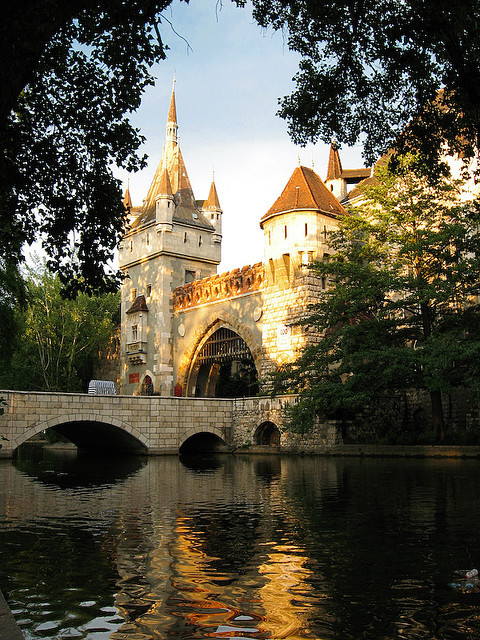 | ♕ |  Castle Vajdahunyad in Budapest  | by © Terry Cartwright | via ysvoice