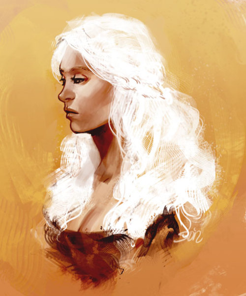 balphesian:  FAVORITE ASOIAF/GAME OF THRONES CHARACTER: DAENERYS TARGARYEN   This is gorgeous.