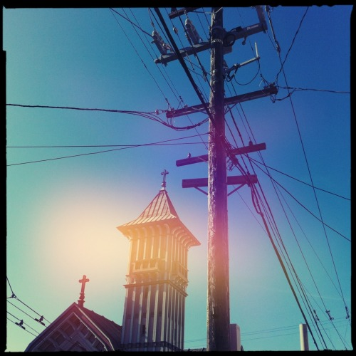 Cow Hollow, San Francisco. Helga Viking Lens, Blanko Noir Film, Dreampop Flash, Taken with Hipstamatic