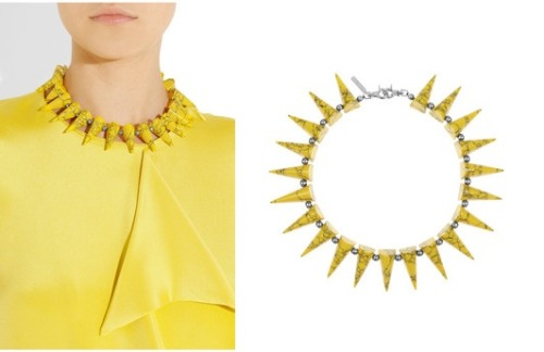 come to momma, sunny eddie borgo necklace that may or may not be a flight risk.