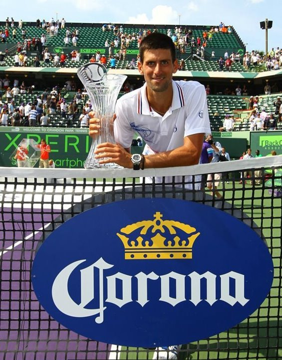 Well done Nole!