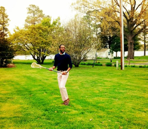 Kendrick captured a real life Gant-lookbook-esque moment on the Eastern Shore this past weekend. CB was sadly better than me (I'm a former laxer). I blame it on the fact that I was using a men's stick…