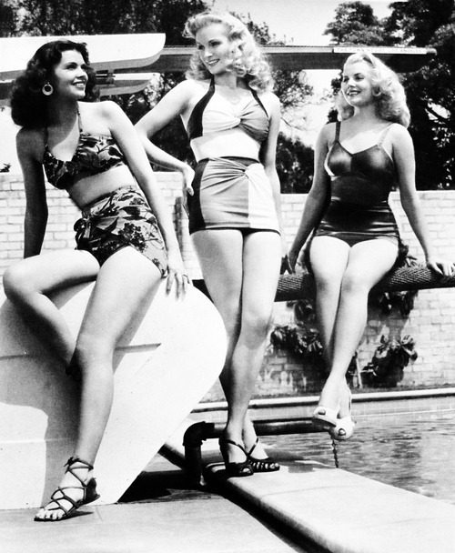 Starlets, Dusty Anderson, Dorothy Brady and Peggy Maley (1947)
