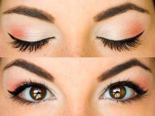 leprom:  A pretty make-up look that's simple!