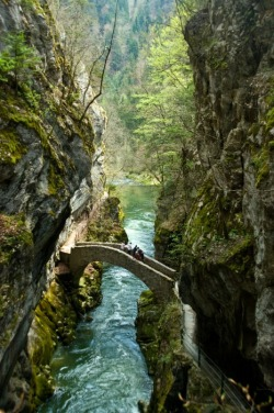 Stone Bridge in Switzerland