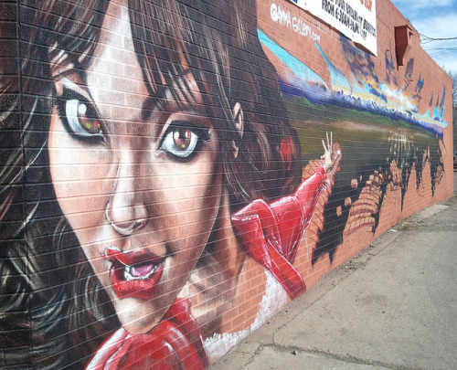 Denver Street Art Mural Spray Paint End-to-End on Flickr.